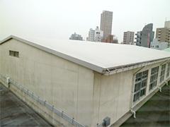 画像:体育館の屋根